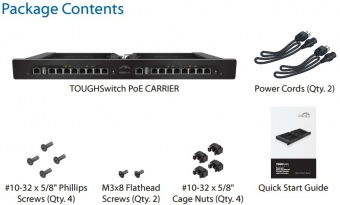 Коммутатор Ubiquiti TOUGHSwitch PoE CARRIER (TS-16-CARRIER)