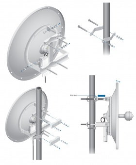 Антенна Ubiquiti RocketDish 2G-24 (RD-2G24)